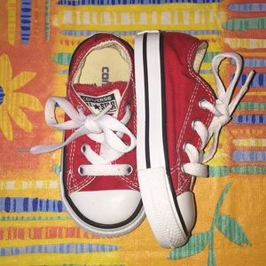 ❤️ Red Converse Sneaker Shoes ❤️